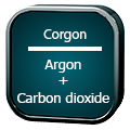 مخلوط گازی کورگون